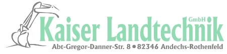 Willkommen bei Kaiser Landtechnik GmbH